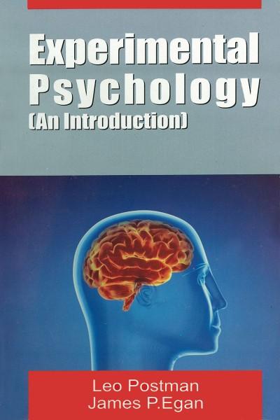 Experimental Psychology : An Introduction