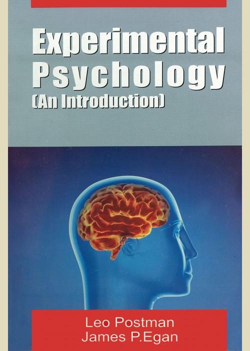 Book Experimental Psychology